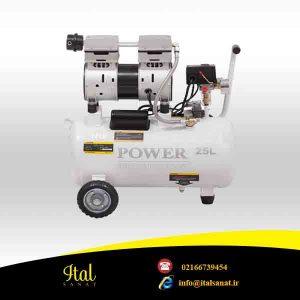 کمپرسور باد POWER CP 25 L-S