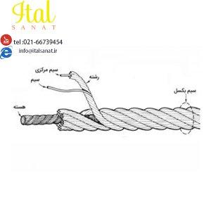 سیم بکسل Wire rope